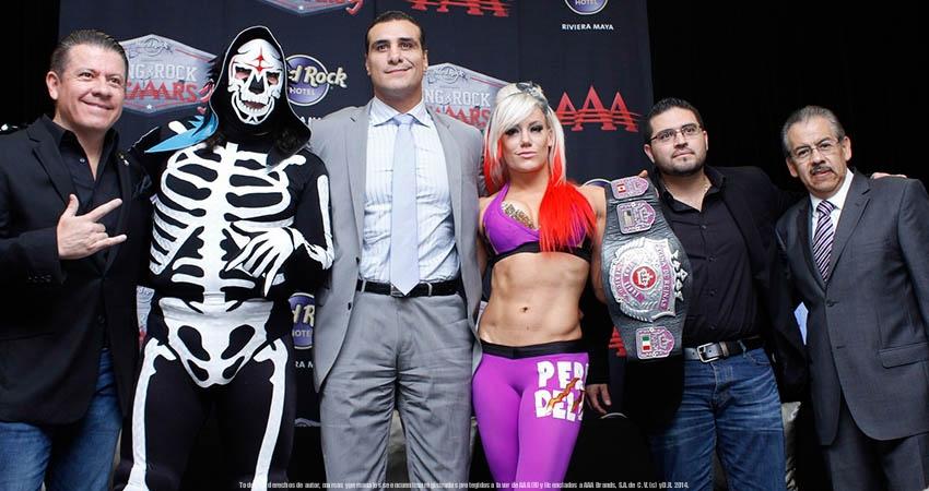 Aaa Wrestling Ring Corona