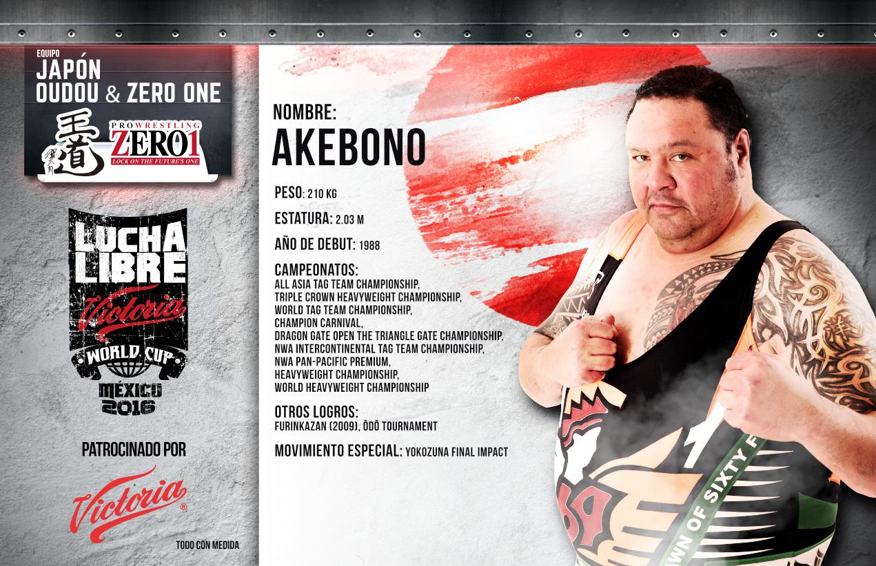 AKEBONO - Lucha Libre AAA Worldwide 2016