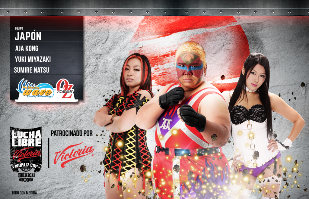 JAPON FEMENIL - Lucha Libre Victoria World Cup 2016