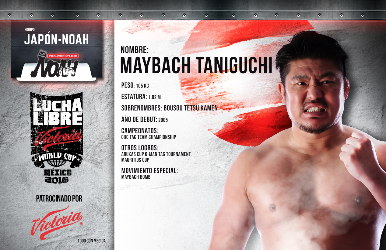 MAYBACH TANIGUCHI - Lucha Libre Victoria World Cup 2016