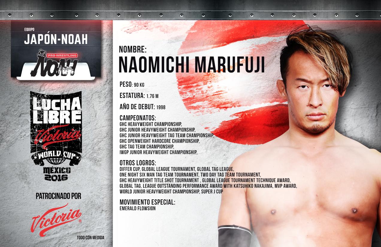 NAOMICHI MARUFUJI - Lucha Libre Victoria World Cup 2016