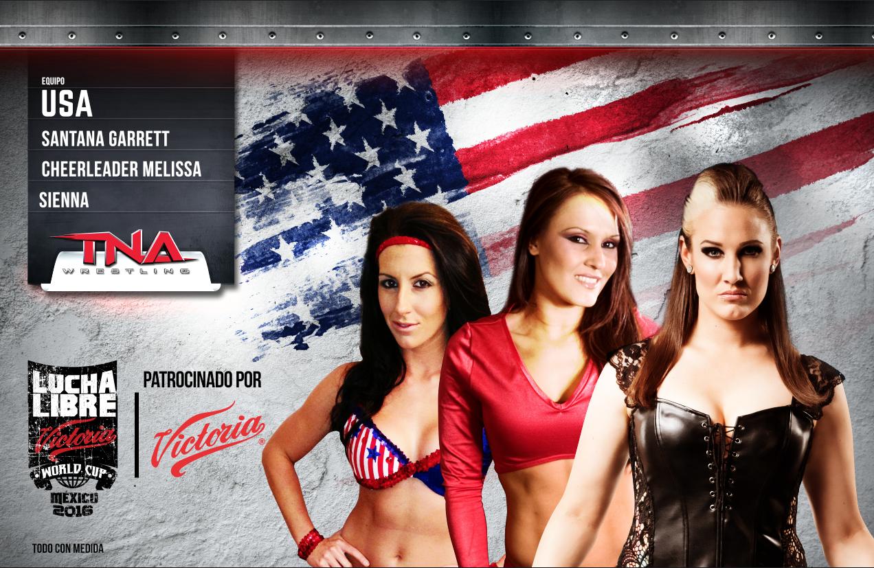 """AAA: Listos los últimos equipos para el torneo """"Lucha Libre World Cup"""" 5"""