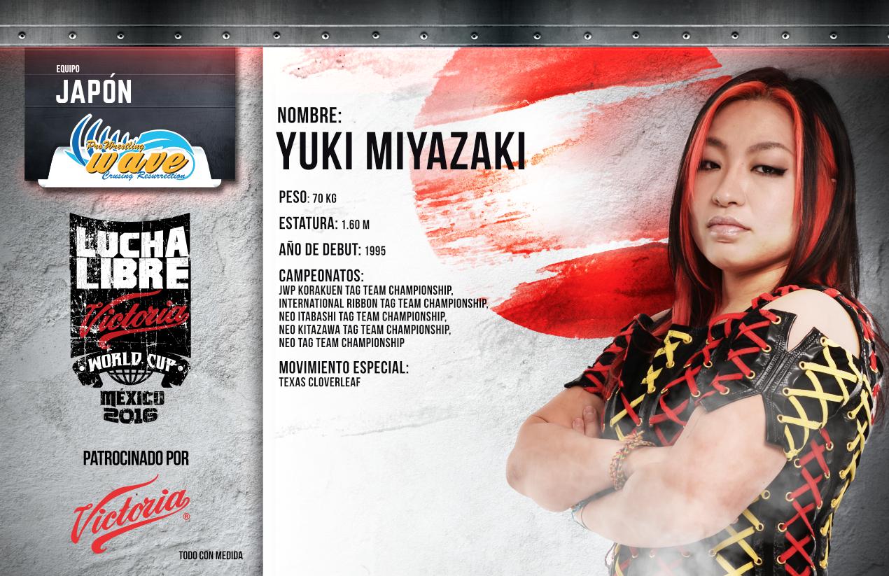YUKI MIYAZAKI - Lucha Libre Victoria World Cup 2016