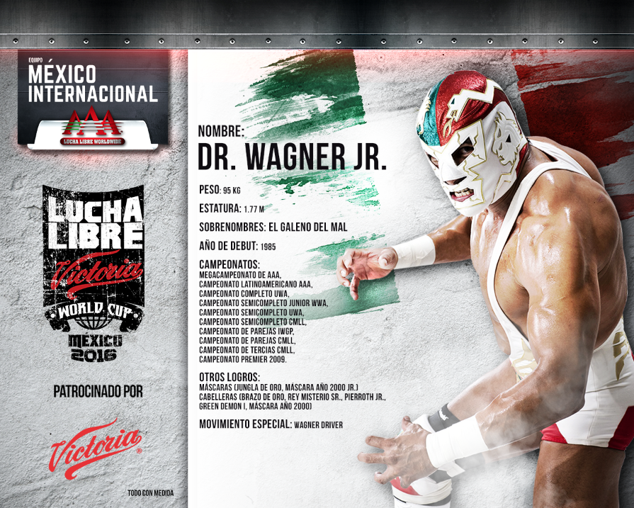 dr wagner jr - Lucha Libre Victoria World Cup 2016