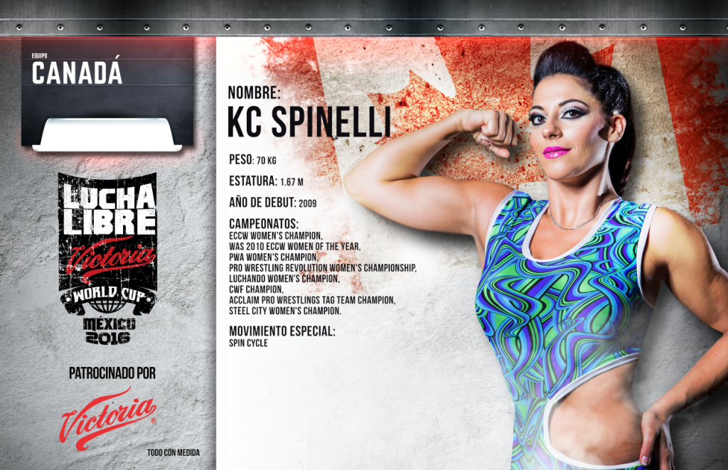 kc spinelli - Lucha Libre Victoria World Cup 2016