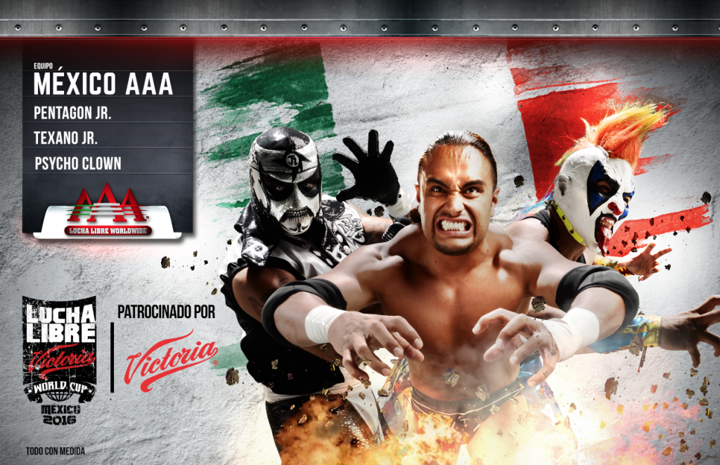 mexico aaa - Lucha Libre Victoria World Cup 2016