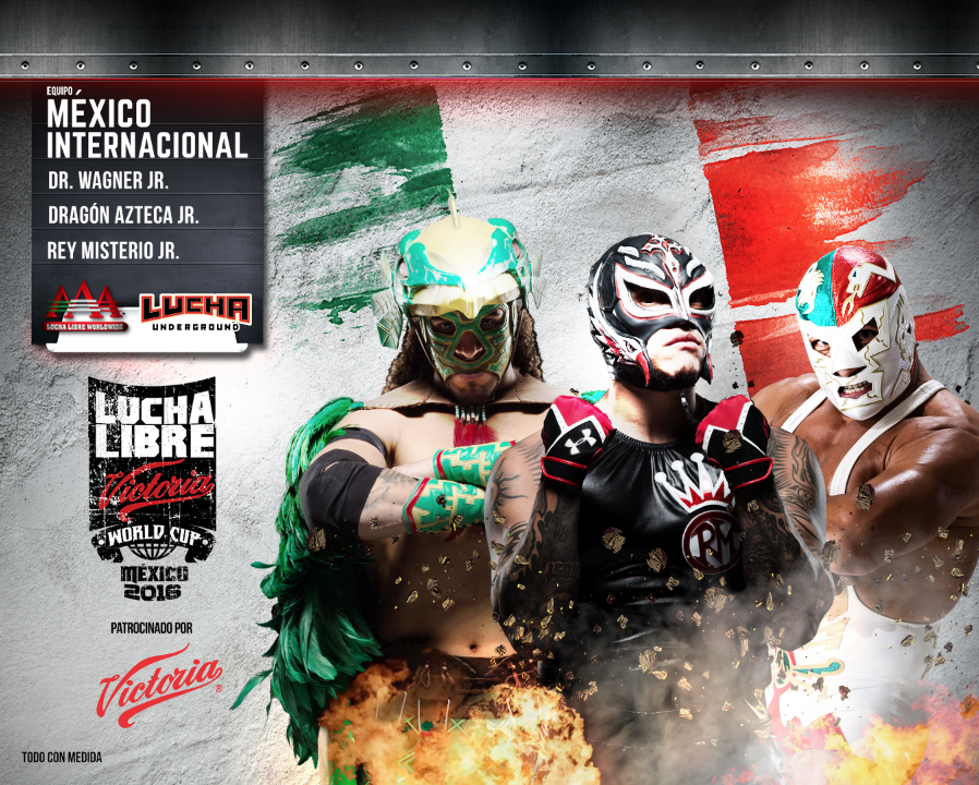 mexico internacional - Lucha Libre Victoria World Cup 2016