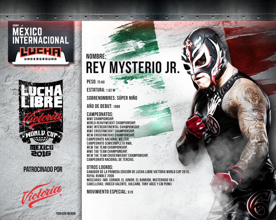 rey mysterio jr - Lucha Libre Victoria World Cup 2016