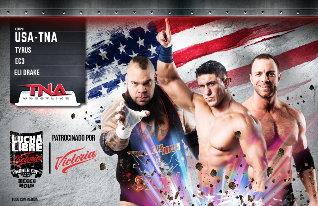 usa tna - Lucha Libre Victoria World Cup 2016