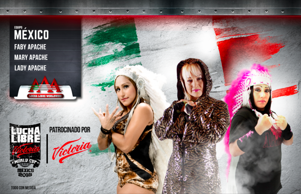MX Femenil - Lucha Libre Victoria World Cup