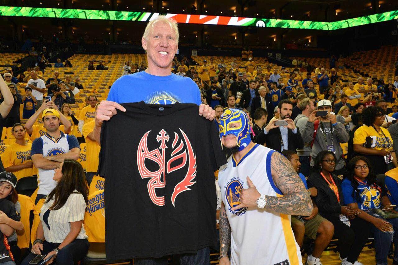 Rey: FOTOS: Rey Mysterio En Las NBA Finals