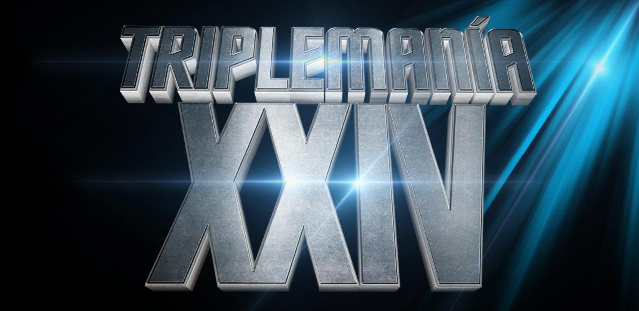 Sede, fecha y logo de Triplemanía XXIV