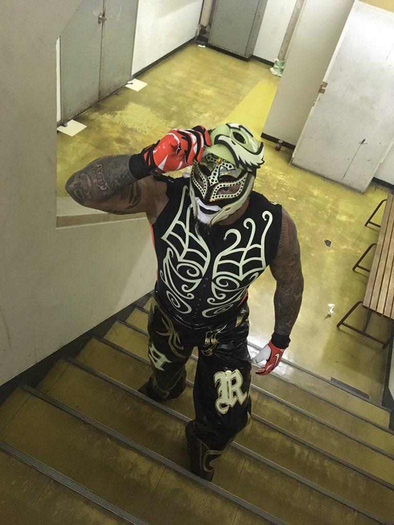Rey Mysterio Jr. en Star Battle Japan 2016