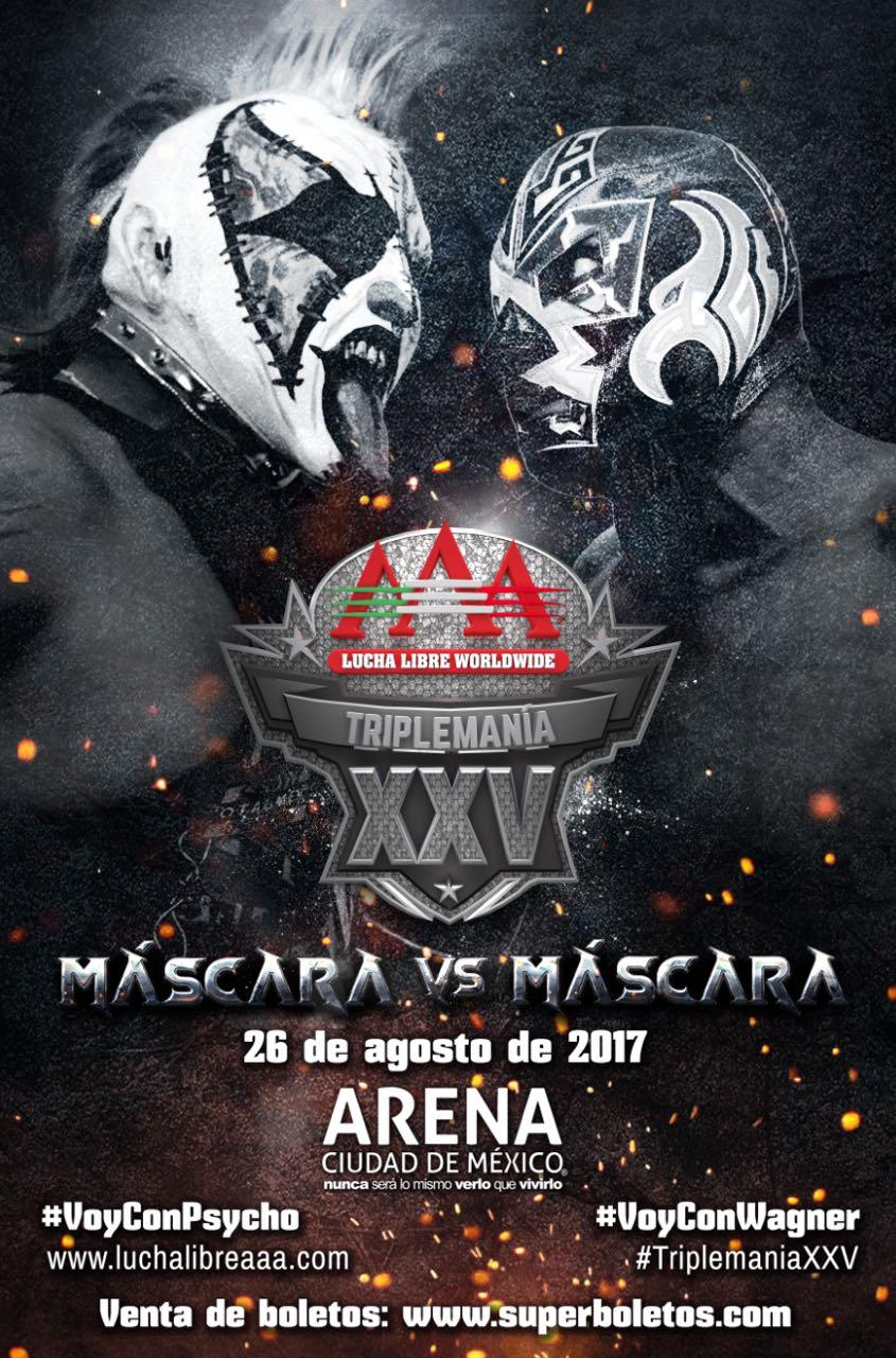 Psycho vs Wagner: Triplemania XXV