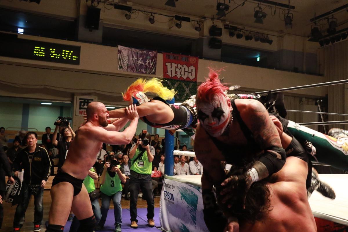 """AAA: Resultados """"Lucha Libre World Cup 2017"""" - Pagano y Psycho Clown son los vencedores 3"""