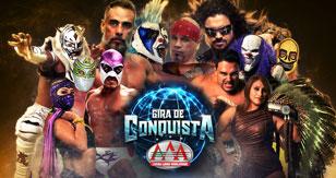 Gira de Conquista: AAA Worldwide en Aguascalientes 2018