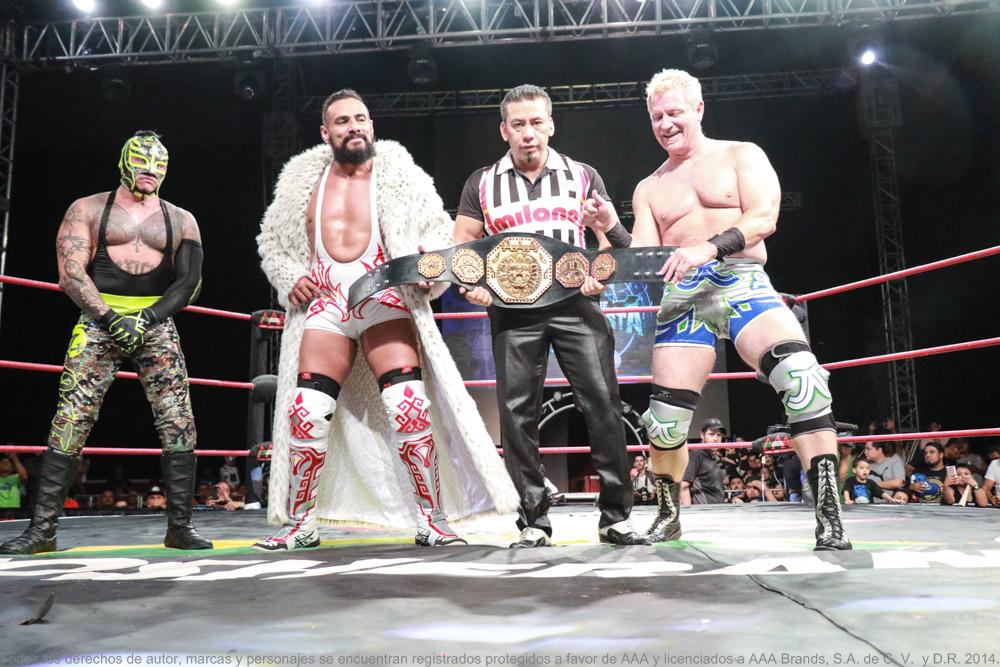 AAA: El Megacampeonato se expondrá en una lucha de cuatro esquinas 3