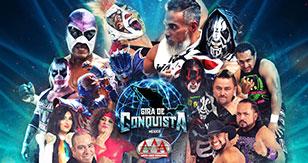Gira de Conquista: Lucha Libre AAA Worldwide en Chalco