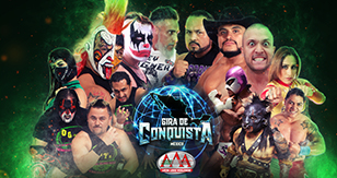 Gira de Conquista: Lucha Libre AAA Worldwide en Ecatepec