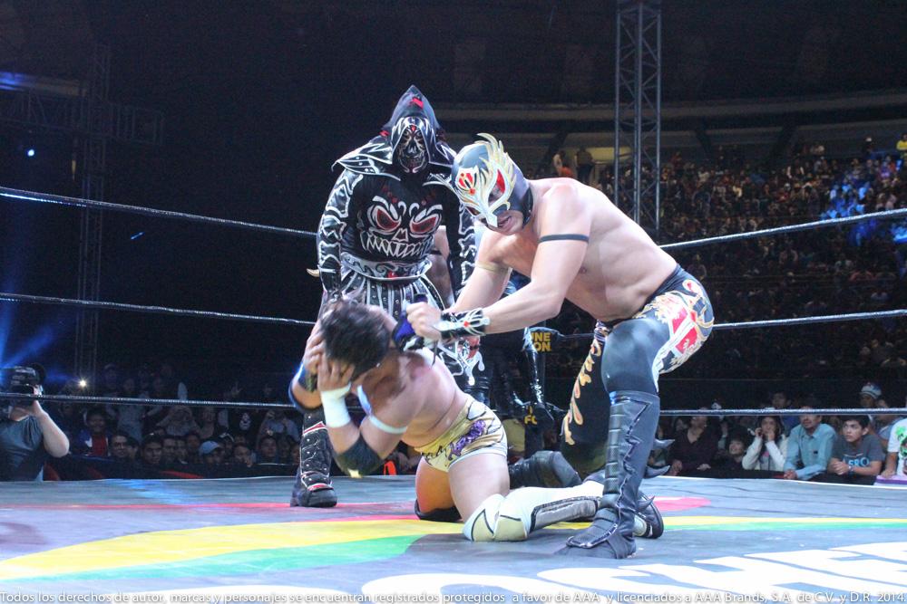 AAA: Gira de Conquista en Orizaba, Drago en pos de Hijo del Fantasma 8