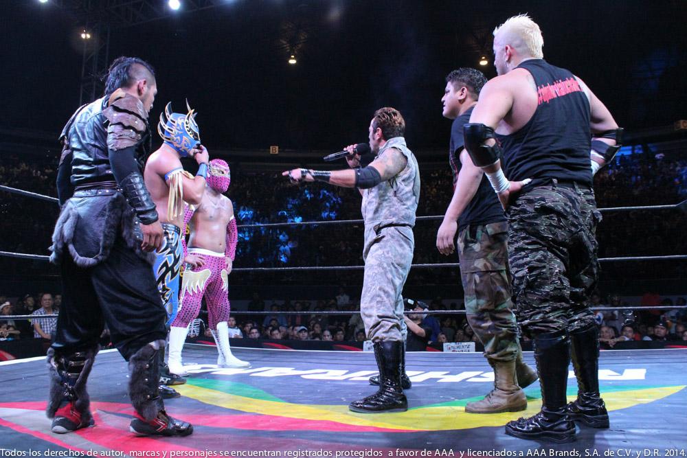 AAA: Gira de Conquista en Orizaba, Drago en pos de Hijo del Fantasma 4
