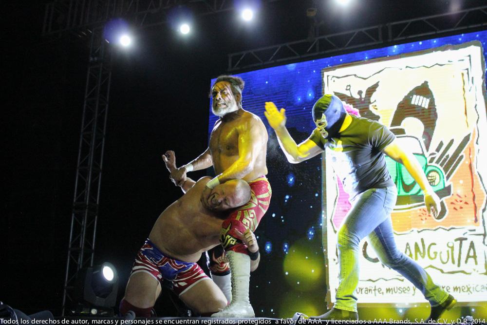 AAA: Gira de Conquista en Orizaba, Drago en pos de Hijo del Fantasma 3