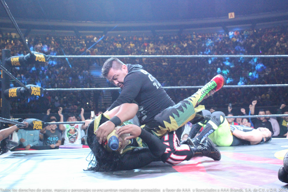 AAA: Gira de Conquista en Orizaba, Drago en pos de Hijo del Fantasma 7