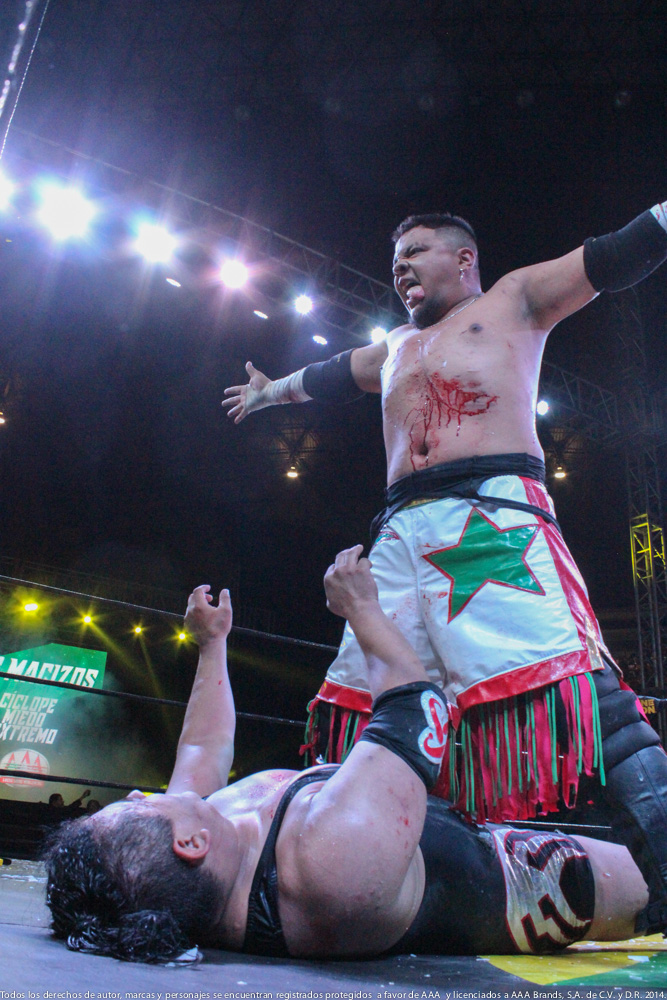 AAA: Gira de Conquista en Orizaba, Drago en pos de Hijo del Fantasma 6