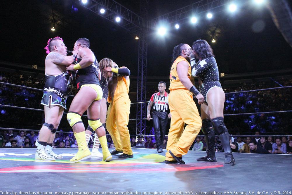 AAA: Gira de Conquista en Orizaba, Drago en pos de Hijo del Fantasma 5