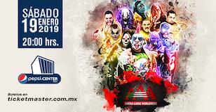 Gira 2019: Lucha Libre AAA Worldwide en Ciudad de México – Enero
