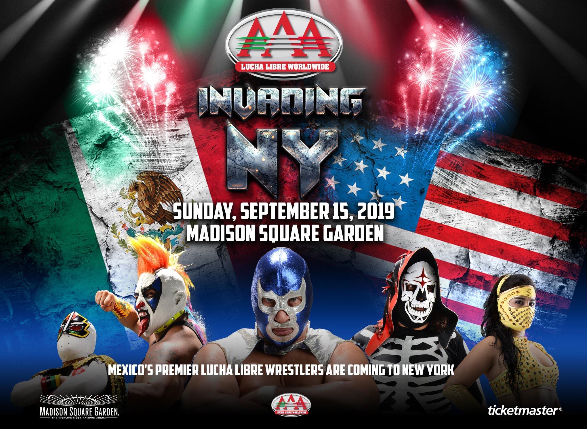 """AAA:""""Invading NY"""" en MSG cambia de recinto por baja venta de entradas 2"""