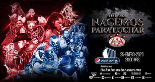 Gira 2020: Lucha Libre AAA Worldwide en Ciudad de México