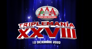 TRIPLEMANÍA XXVIII por YOUTUBE